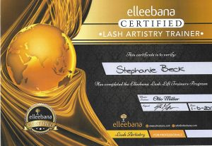 Certificaat Official Elleebana Trainer