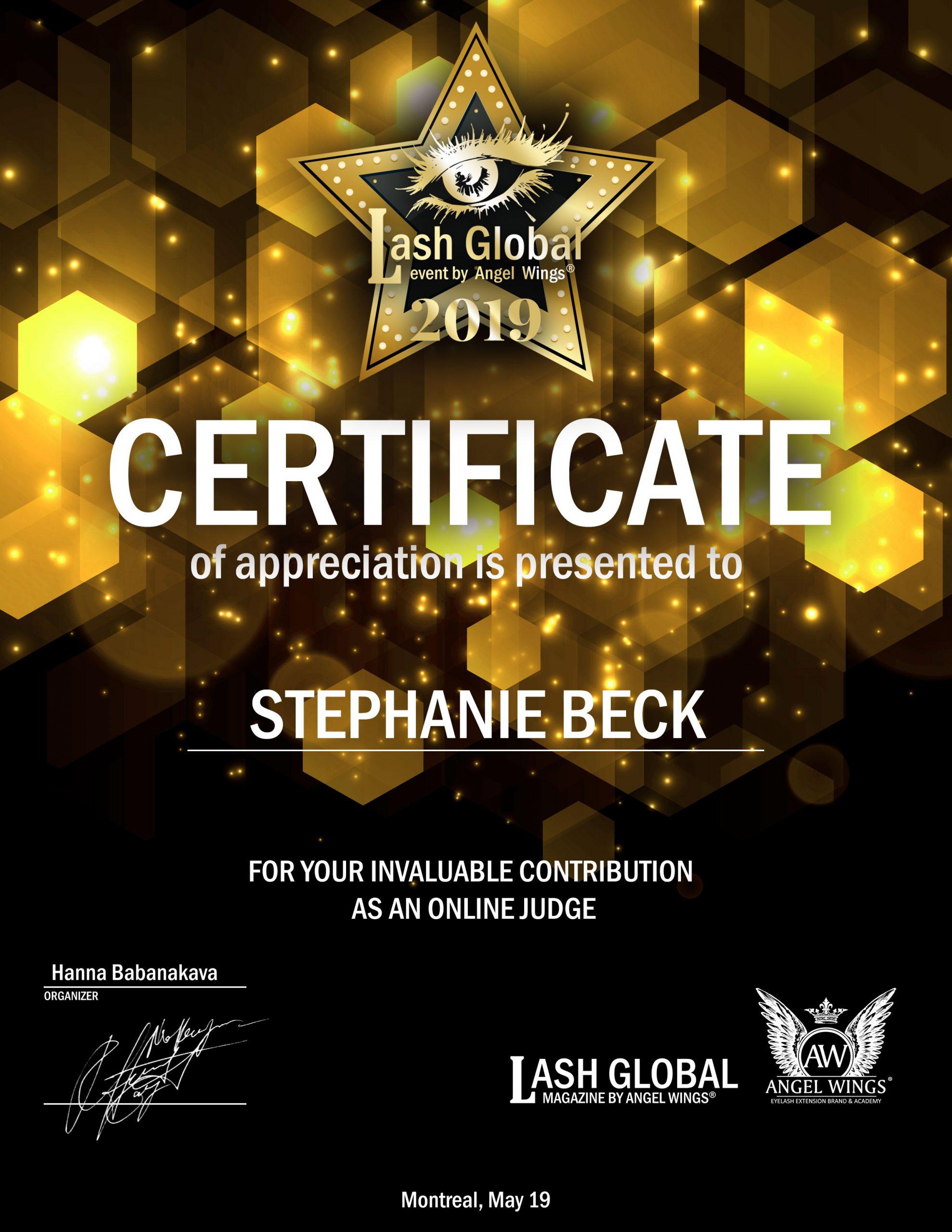 Judge Stephanie-Beck