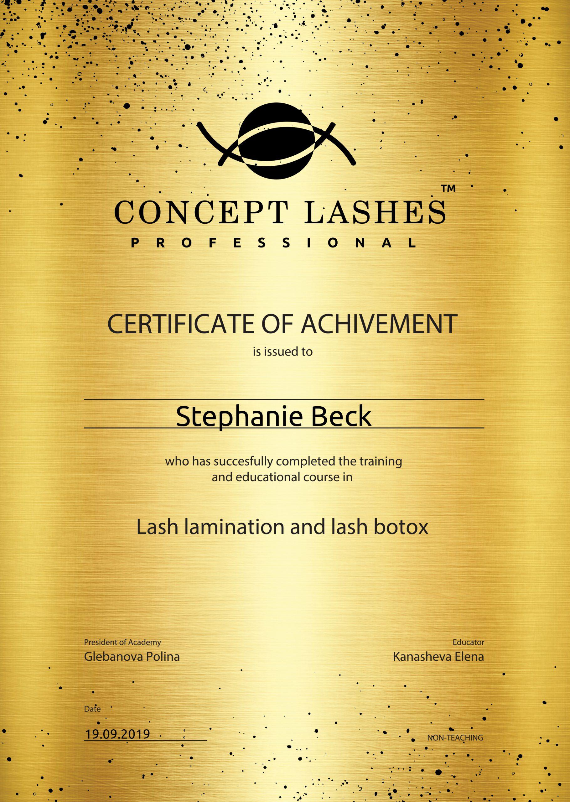 Lash Lamination